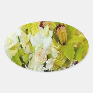 Wedding Flowers Stickers