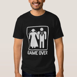 Wedding Game Over T Shirt
