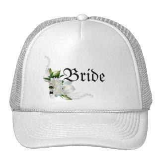 Wedding Gardenias Cap