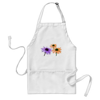 wedding gift, daisy flowers, thank you, etc. aprons