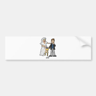 Wedding Gifts 6 Bumper Stickers