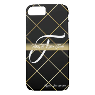 wedding gifts gold theme iPhone 8/7 case