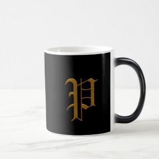 Wedding Gold Monogram Mugs