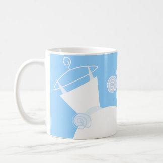 Wedding Gown Blue 'Bridal Shower' mug
