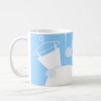 Wedding Gown Blue 'Bridesmaid' Coffee Mug