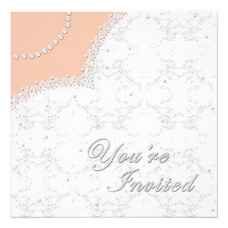 WEDDING GOWN - INVITATION - MULTI-PURPOSE CUSTOM ANNOUNCEMENTS