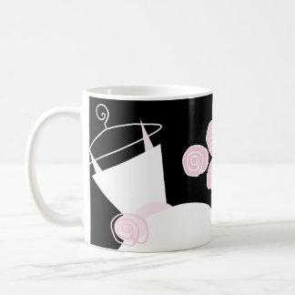 Wedding Gown Pink 'Bridal Shower' mug black