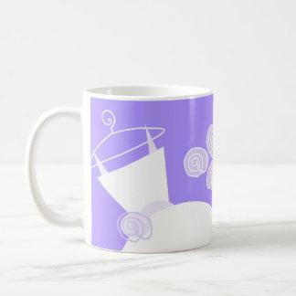 Wedding Gown Purple 'Bridal Shower' mug