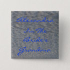 Wedding Grandma Beach Name Identifier Pin