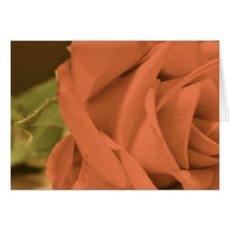 Wedding Greeting Card with a rose