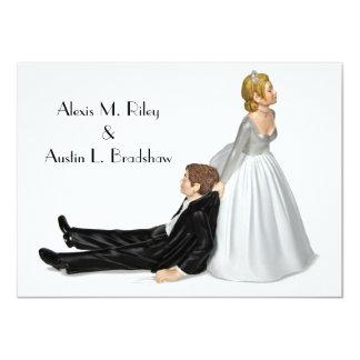 Wedding Humor 4.5x6.25 Paper Invitation Card