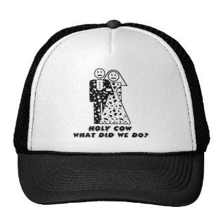 Wedding Humor Icon: Holy Cow Hat