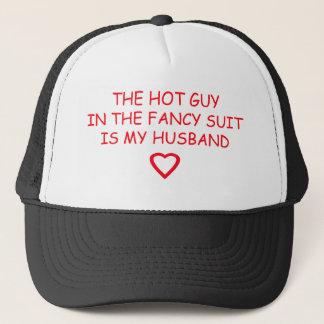 WEDDING HUSBAND STUFF TRUCKER HAT