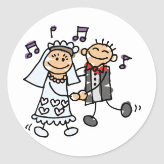 Wedding Ideas 20 Classic Round Sticker