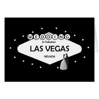 WEDDING In Fabulous Las Vegas B&G Card