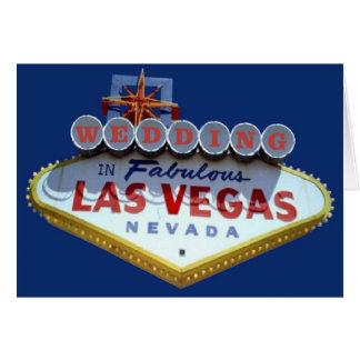 WEDDING In Fabulous Las Vegas Cards