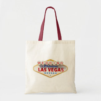 WEDDING In Fabulous Las Vegas Keepsake Tote Bags