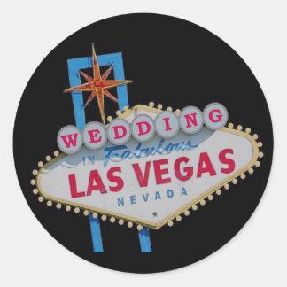 WEDDING In Fabulous Las Vegas Sticker