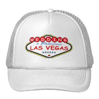 WEDDING In Fabulous Las Vegas with Cherries Cap Trucker Hat