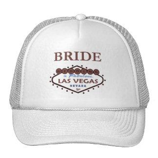 WEDDING In Las Vegas Bride Cap Trucker Hats