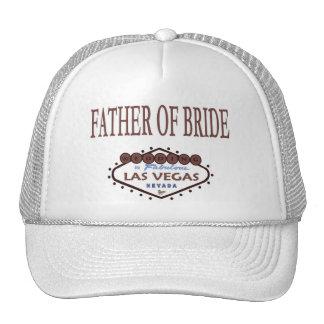 WEDDING In Las Vegas Father of Bride Cap Mesh Hats