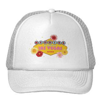 Wedding In Las Vegas Floral Hat