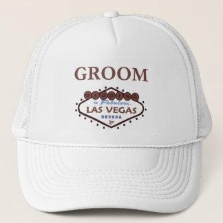 WEDDING In Las Vegas Groom Cap