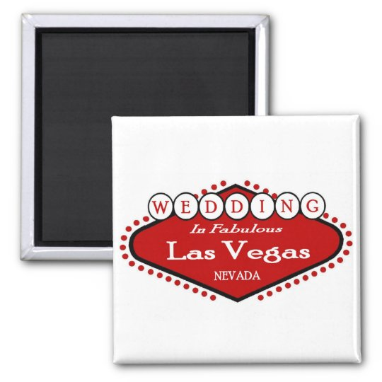 Wedding in Las Vegas Magnet