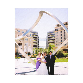 Wedding Infinity Canvas Print