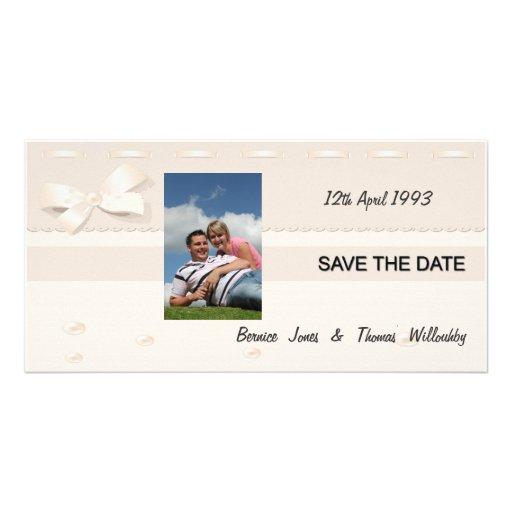 Wedding Inviation Set  3 Personalised Photo Card