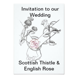 wedding invitation 13 cm x 18 cm invitation card