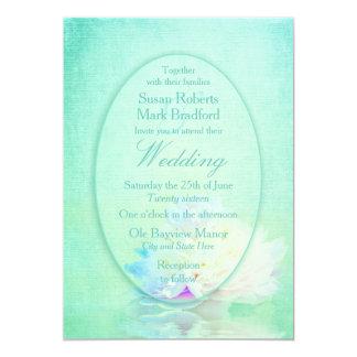 WEDDING INVITATION - Elegant Peony & Reflection