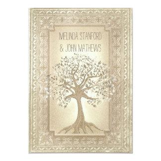 Wedding Invitation Family Tree