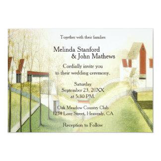 Wedding Invitation Farm and Meadow