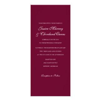 Wedding Invitation Fine Wine ma
