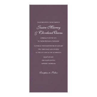 Wedding Invitation Fine Wine pur