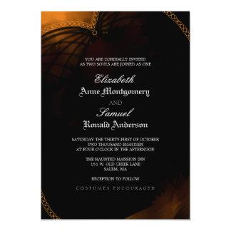Wedding Invitation - Halloween Elegant Gothic