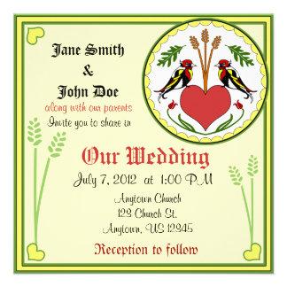 Wedding Invitation - Long Happy Relationship Hex
