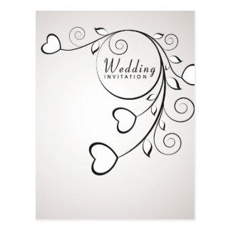 Wedding Invitation Postage Postcard
