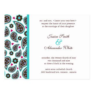 Wedding Invitation Postcard | C1