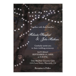 Wedding Invitation | String Lights
