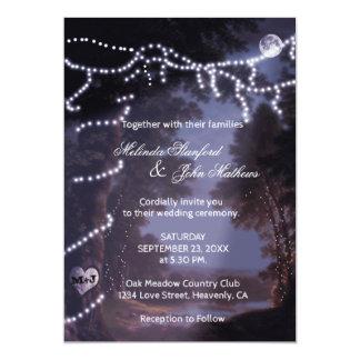 Wedding Invitation | Tree Lights