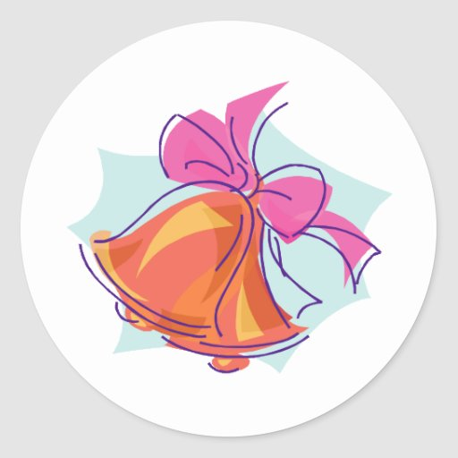 Wedding Invitations 43 Round Sticker