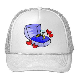 Wedding Invitations 4 Mesh Hat