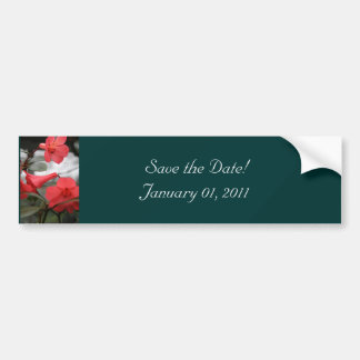 Wedding Invitations, Save the Date! Bumper Sticker