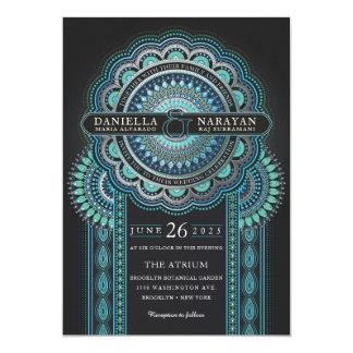 Wedding Invitations | Viridian Bliss