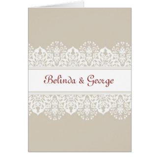 Wedding Invite Greeting Card