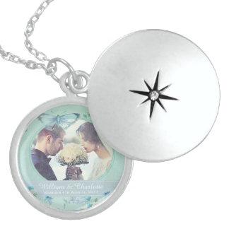 Wedding Keepsake Locket Necklace