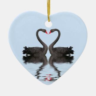 Wedding Keepsake Romancing Swans Wedding Set Christmas Ornament