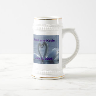 Wedding Keepsake Stein